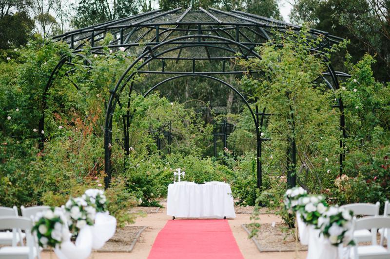 Garden Ceremony - Winson & Sotheary